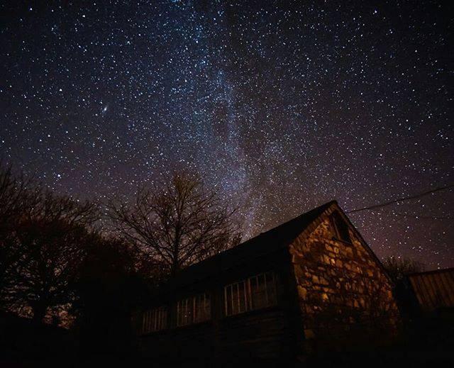 Brithdir Mawr sky
